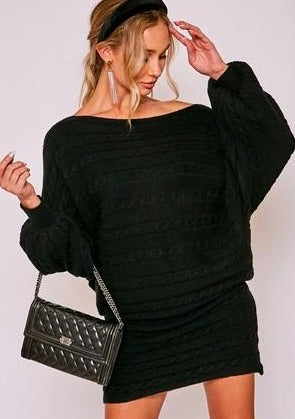 Trina Sweater Dress - romp Collection