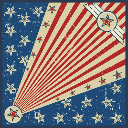 """Star Spangled Banner"" Wild Rag - romp Collection"