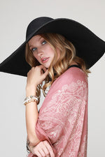 Oversized Straw Hat - romp Collection