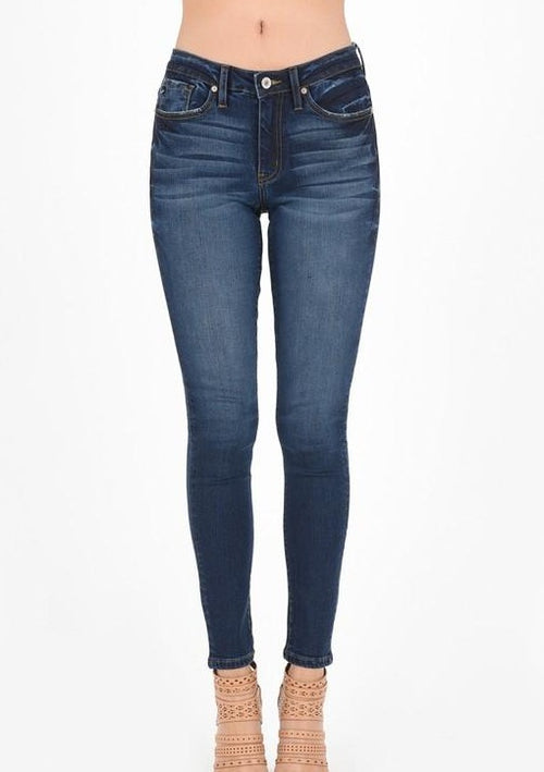 Miley Mid-Rise Skinny - romp Collection