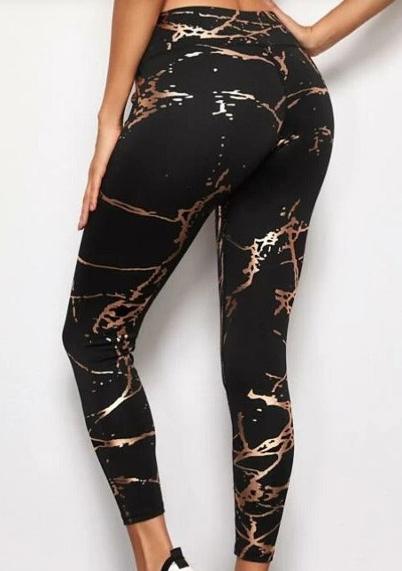 Splatter Leggings - romp Collection