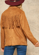 Paloma Fringe Suede Jacket - romp Collection