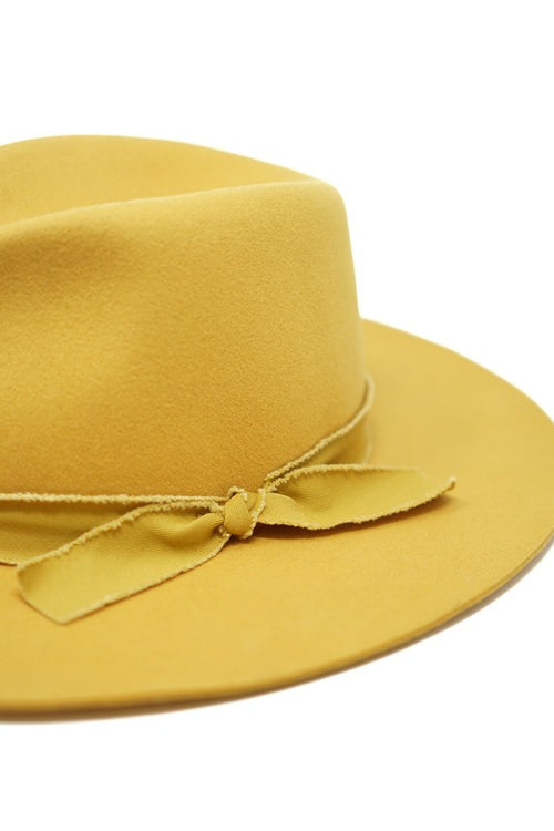 Outlaw Rancher Hat- Mustard - romp Collection