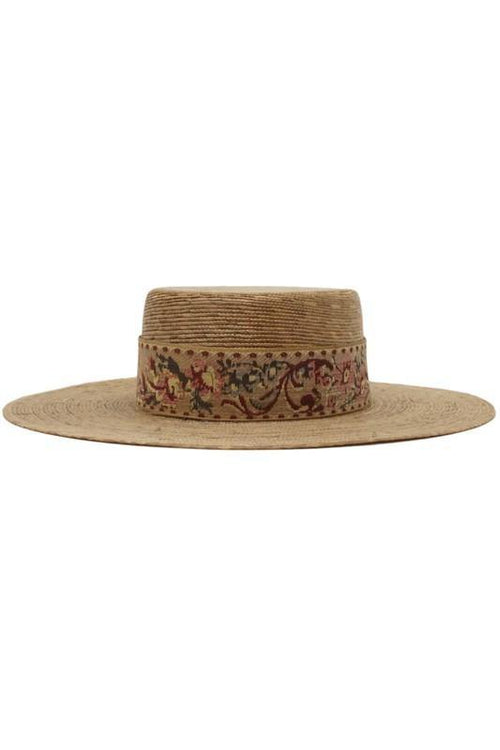 Aveline- Straw Sun Hat - romp Collection