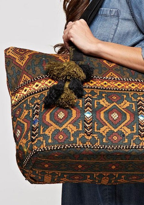 Morocco Nights Carry-On Bag - romp Collection