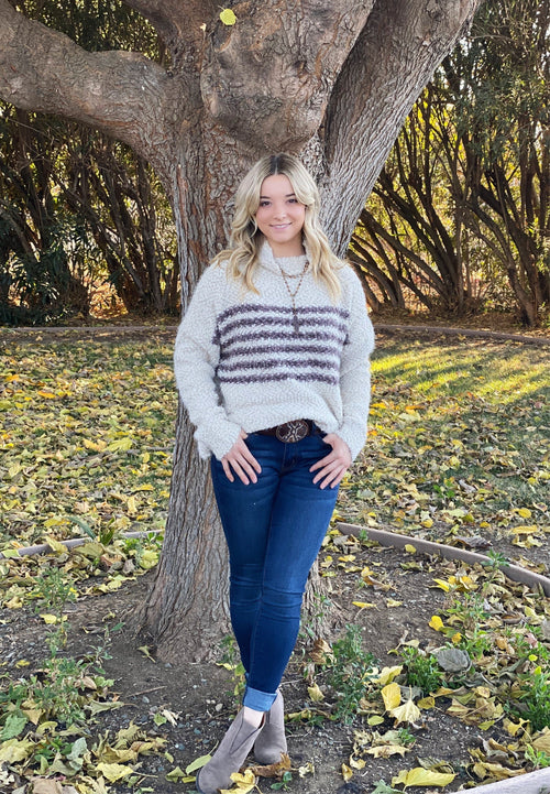 Softest Stripes Sweater - romp Collection
