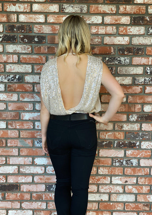 A+L Sequin Top - romp Collection