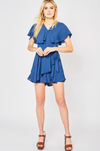 Sailor Ruffled Romper - romp Collection