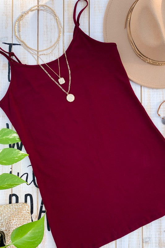 Basic Cami Tank Top - romp Collection