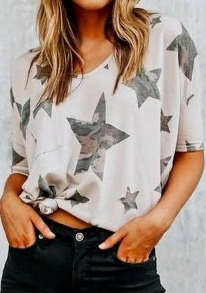 Camo Stars T - romp Collection