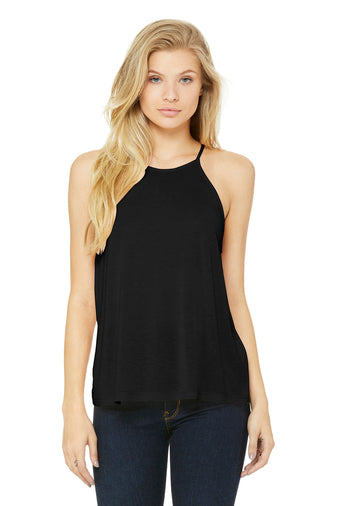 Flowy High Neck Tank - romp Collection