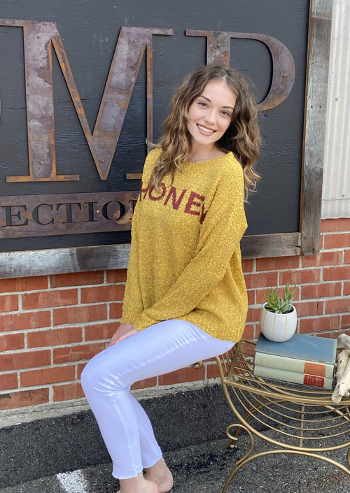 Honey Sweater - romp Collection