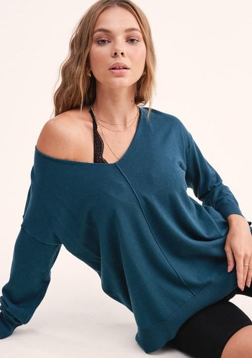 Nelly Knit Soft Sweater - romp Collection