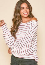 Sweet Song Striped Sweater - romp Collection
