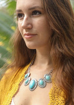 Turquoise Teardrop Necklace - romp Collection
