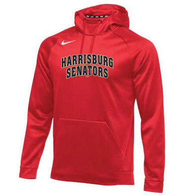 Harrisburg Senators Men's Nike Red Therma Hoodie