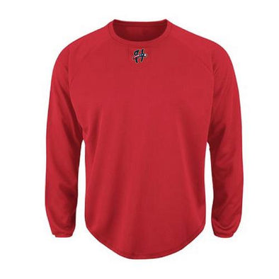 Harrisburg Senators Majestic Home Plate Tech Pullover - Men's
