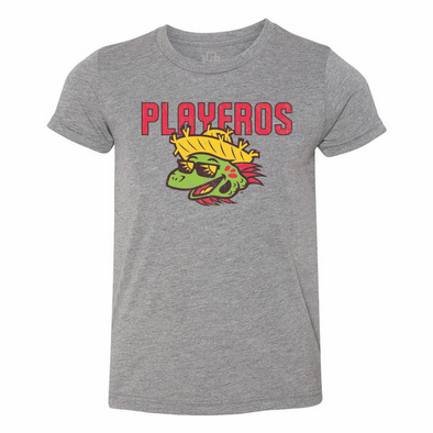 Los Playeros de Harrisburg 108 Stitches COPA Youth Tee - Grey