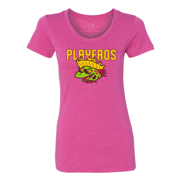 Los Playeros de Harrisburg 108 Stitches Women's Tee - Pink