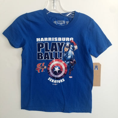 Youth Senators Captain America Tee