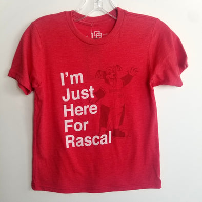 "Youth ""I'm Just Here For Rascal"" Tee"