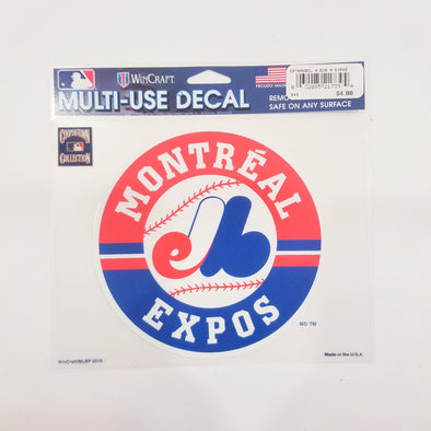 Montreal Expos Window Decal