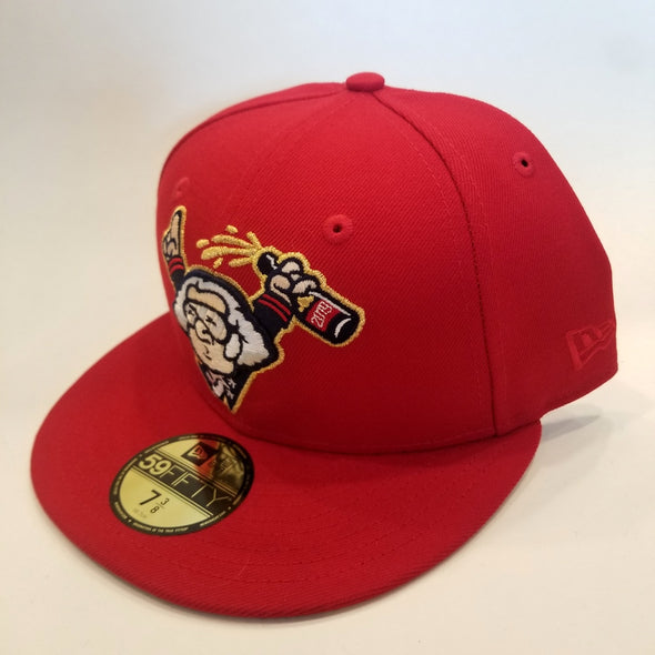 George Washington Celebrates a World Series 59Fifty Cap - RED