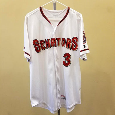 Game Worn Home White Jerseys
