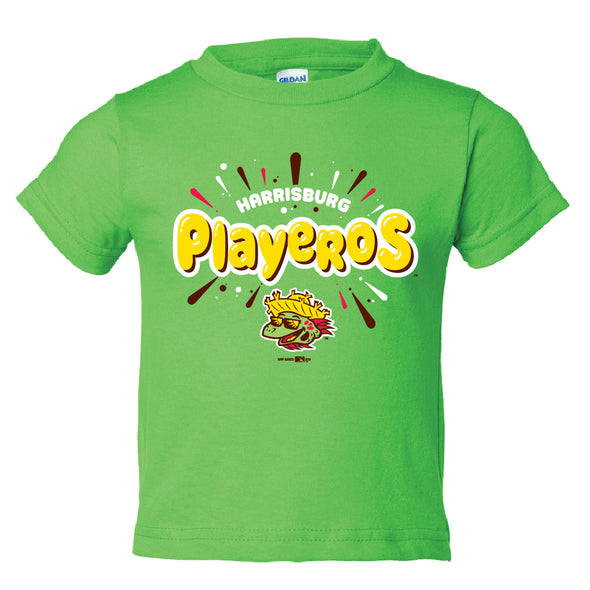 Playeros Toddler Tee - Lime Green