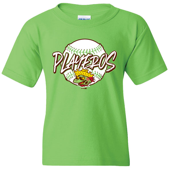 Youth Lime Green Playeros Tee