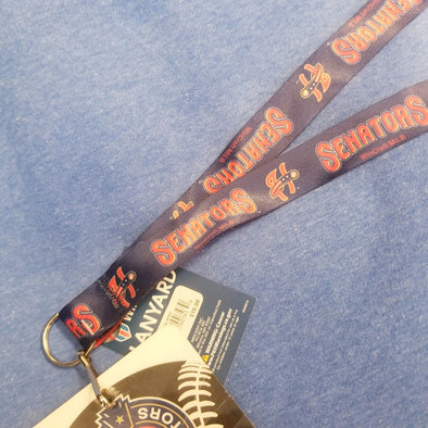 Senators/Nationals Affiliate Lanyard