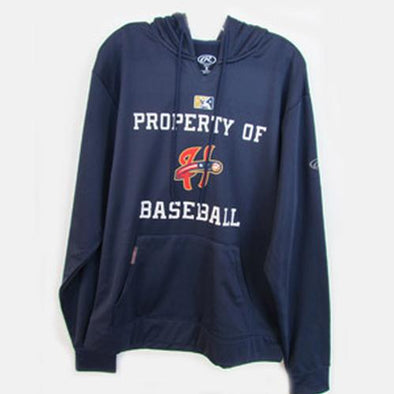 Harrisburg Senators Rawlings Navy On Field Hoodie