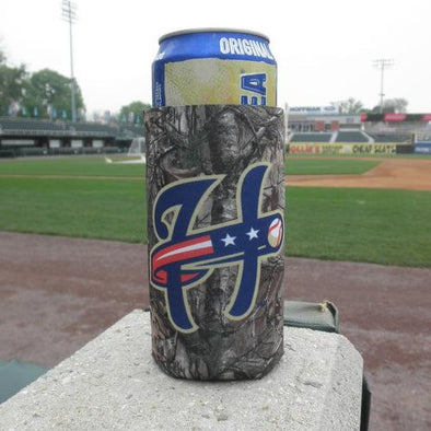 Harrisburg Senators RealTree Camo Can Coozie