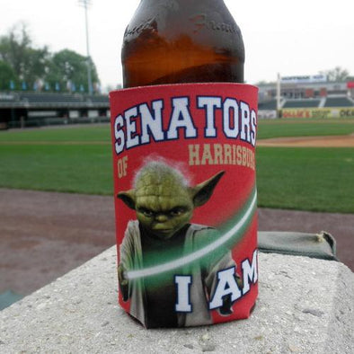Harrisburg Senators Yoda Can Coozie
