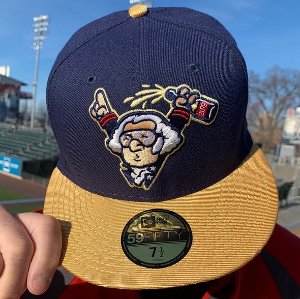 George Washington Celebrates a World Series 59Fifty Cap - NAVY