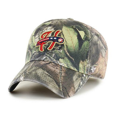Harrisburg Senators '47 Brand Mossy Oak Clean Up Cap