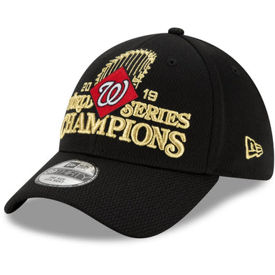 Washington Nationals World Series 39Thirty Flex Fit Locker Room Cap OSFM