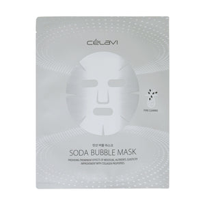 Load image into Gallery viewer, Celavi Soda Bubble Sheet Mask