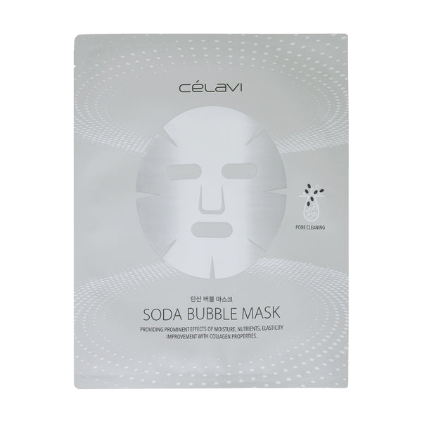 Celavi Soda Bubble Sheet Mask