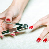Celavi 2PC Nail Clipper & Tweezer Set
