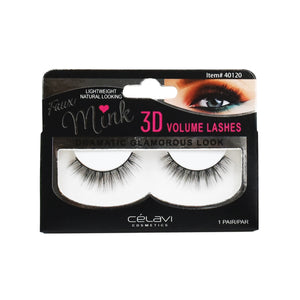 Load image into Gallery viewer, Celavi 3D Faux Mink Eyelashes #001