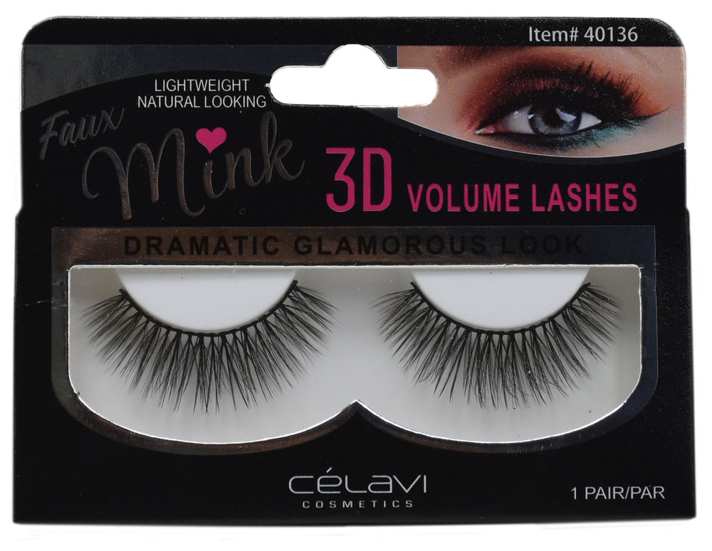 Load image into Gallery viewer, Celavi 3D Faux Mink Eyelashes