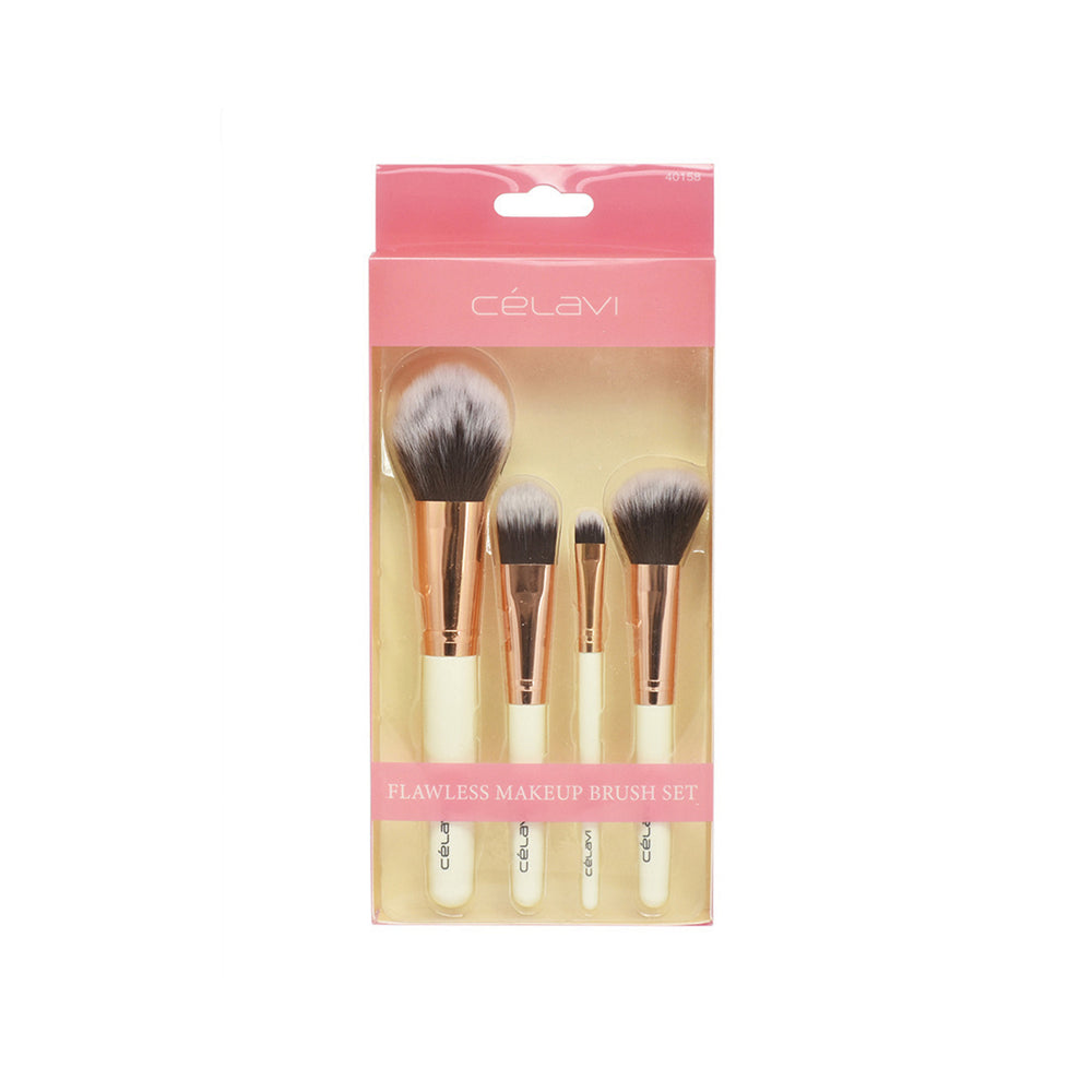 Load image into Gallery viewer, Celavi 4PC Flawless Makeup Brush Set