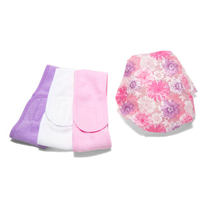 Load image into Gallery viewer, Celavi Beauty Shower Set / Headband & Shower Cap