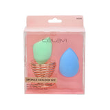 Celavi 3PC Blending Sponge and Stand Set