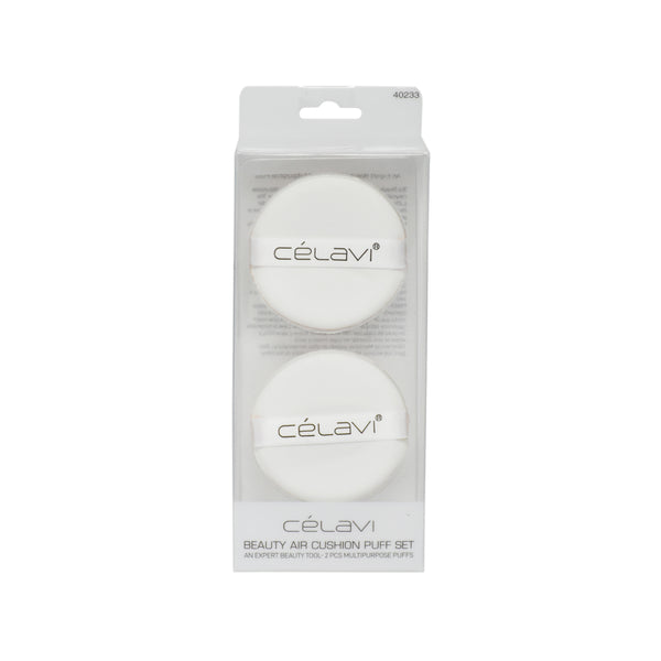 Celavi 2PC Air Cushion Puff Set