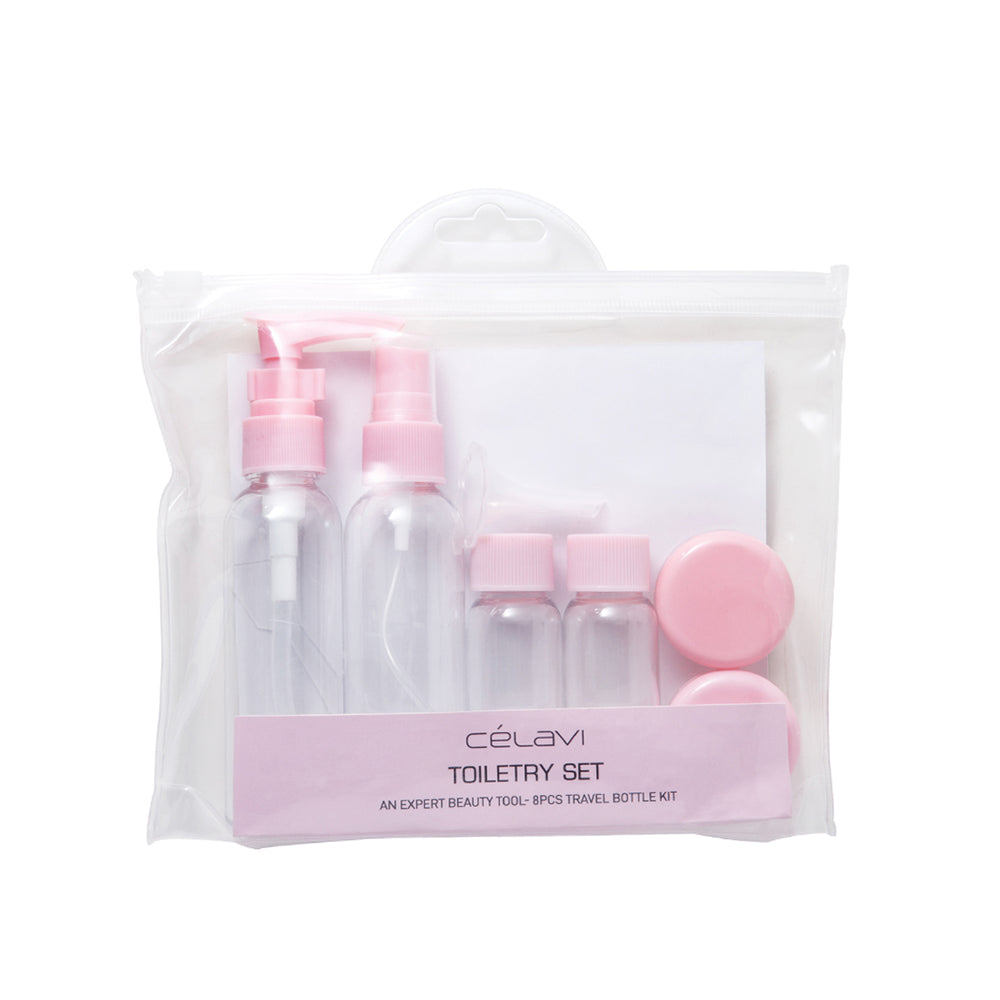 Celavi 6PC Travel Set & Jar Kit