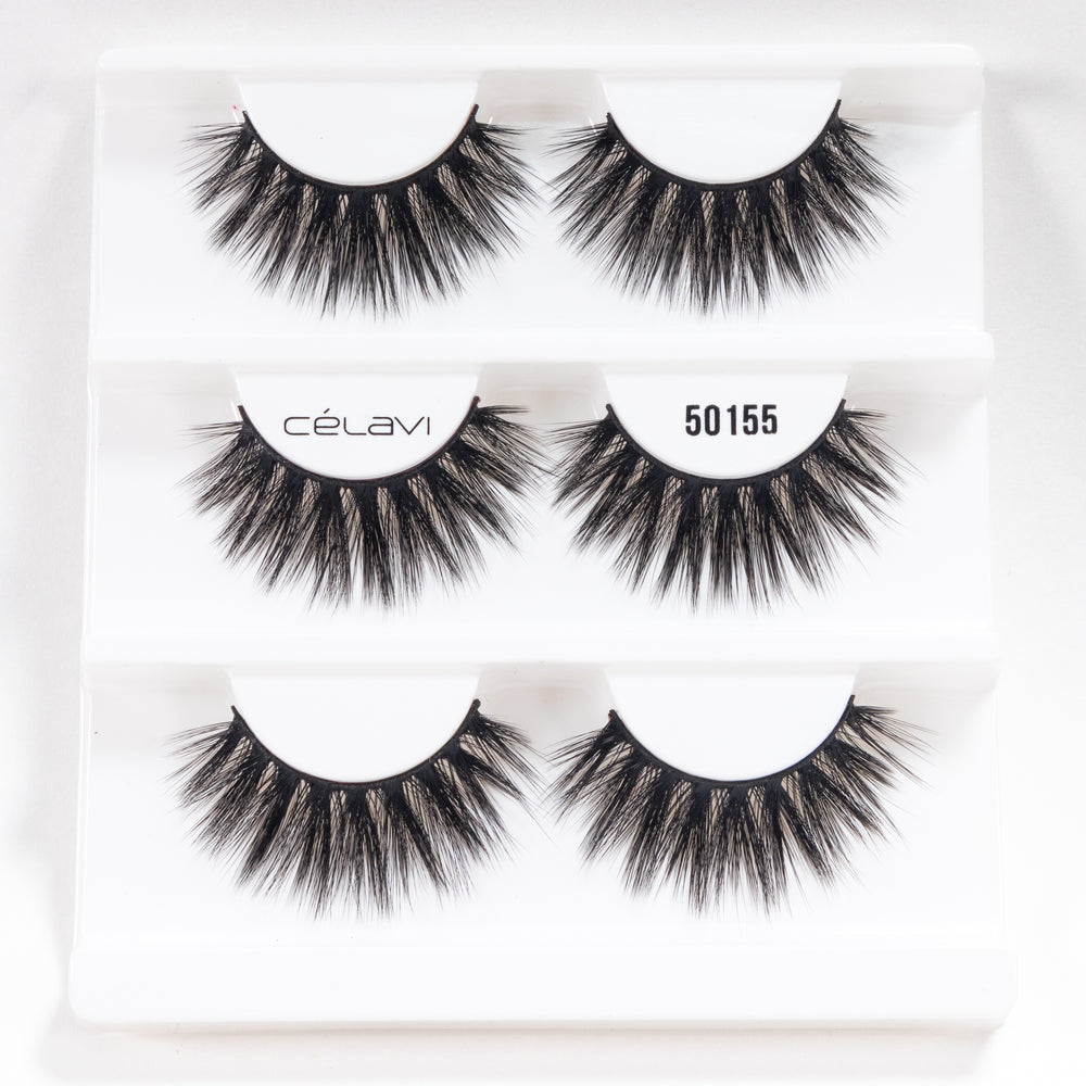 Load image into Gallery viewer, Celavi Faux Mink 5D Volume Lashes ( 3 Pairs)