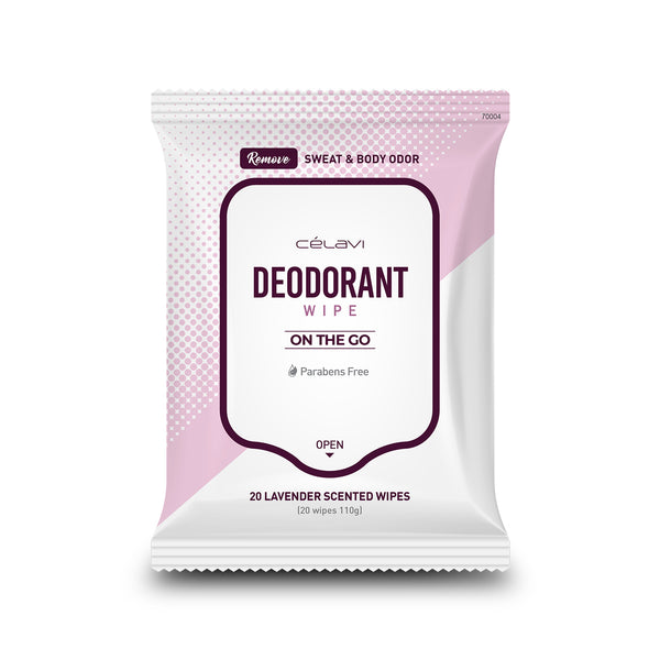 Celavi Deodorant Wipes