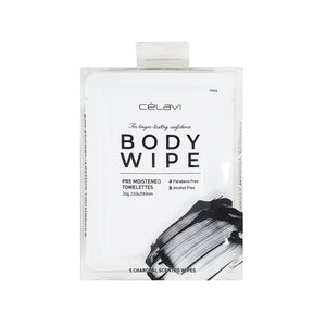 Celavi 5PC Body Wipes